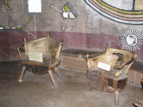 Some of the furniture and interior painting in the Watchtower