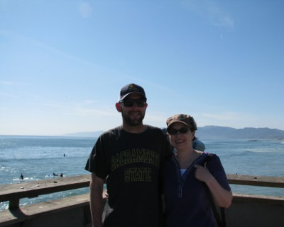 Jon and Me at Venice Beach