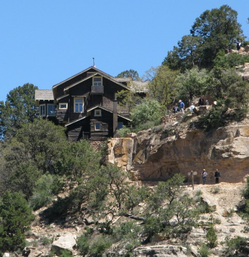 Kolb Studio – Built 1904 – Perched above the Bright Angel Trail