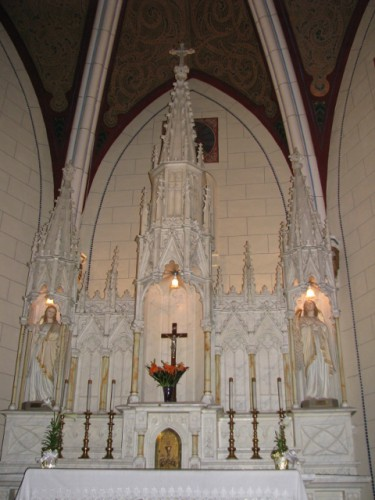 The Altar at the Loretto Chapel