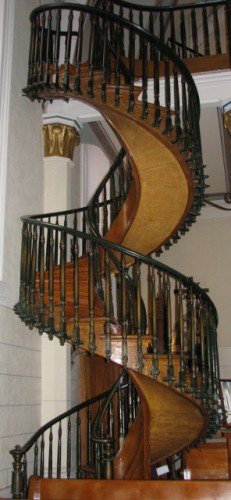 The Miraculous Staircase at the Loretto Chapel