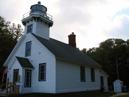 The Mission Point Lighthouse