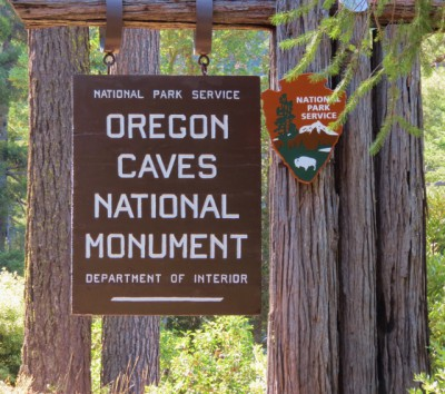 I was so excited about our visit to Oregon Caves National Monument!