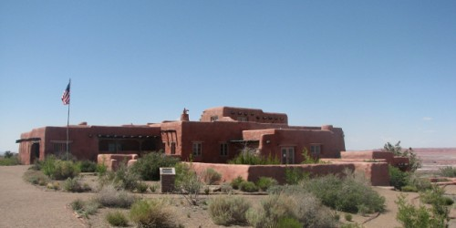 The Painted Desert Inn – built 1937 to 1940