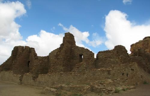 Pueblo Bonito – the blue sky makes it look warmer than it was