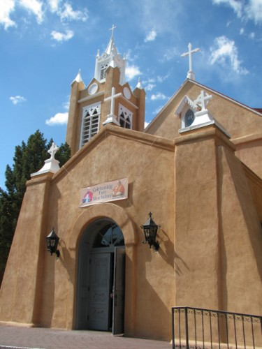 San Felipe de Neri Church in Albuquerque