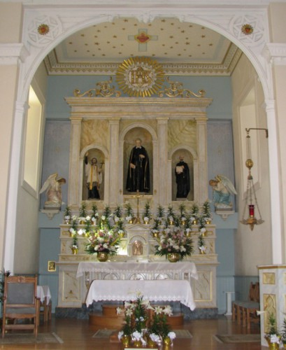The Sanctuary at San Felipe de Neri