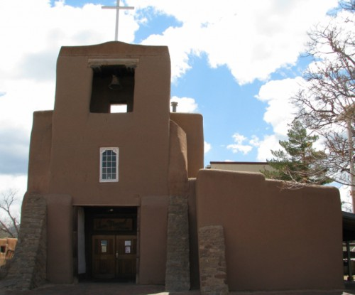 The San Miguel Mission in Santa Fe