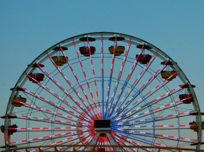 The Ferris Wheel at the Pier