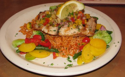 Grilled Mahi Mahi at the San Francisco Grill