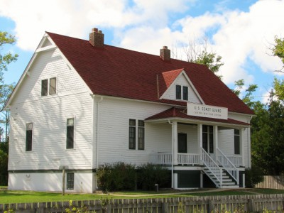 The Sleeping Bear Point Life Saving Station – Now a Maritime Museum