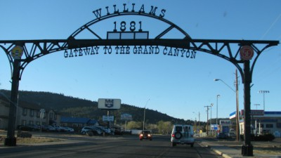 The Gateway to Williams, Arizona