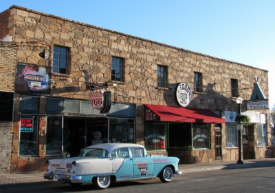 Williams, Arizona and Route 66 – I love the Turquoise Tepee!