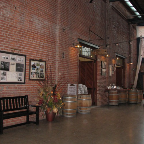 The Interior of the Old Sugar Mill – I love those Brick Walls!
