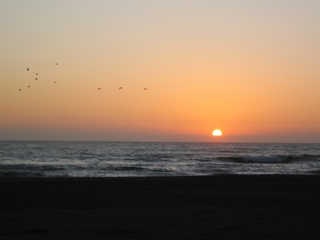 Sunset at Gold Beach