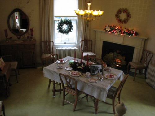 The Breakfast Room – John F. Kennedy had breakfast in this room
