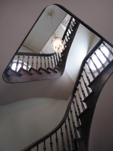 The Stairs to the Cupola