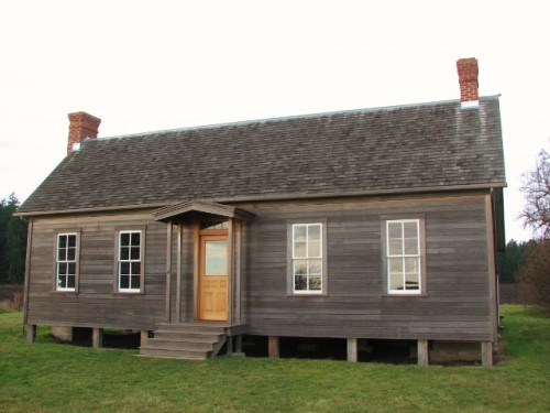 Jacob Ebey, father of Isaac Ebey, built this house on his donation land claim in 1855
