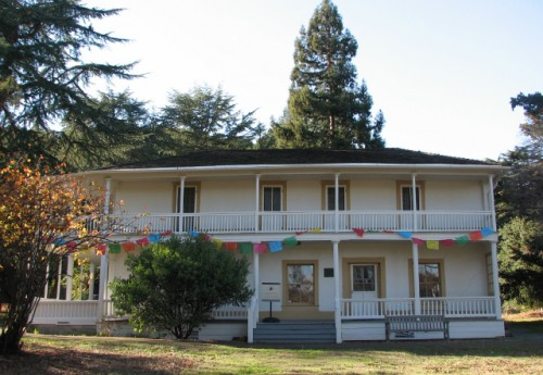 Martinez Adobe, built 1849 – Adobe Construction