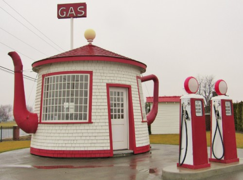 The Teapot Dome Service Station - Built 1922 - Zillah, Washington