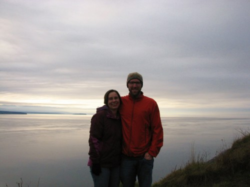 Jon and me at Ebey's Landing National Historical Reserve