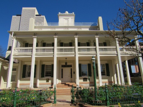 The Beehive House - Built 1853-1856 - Greek Revival Architectural Style