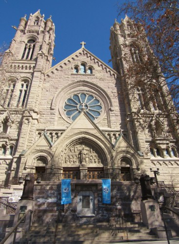 Cathedral of the Madeleine - Built 1909 - Neo-Romanesque Architectural Style
