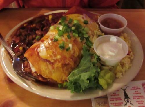 Jon's Veggie Burrito