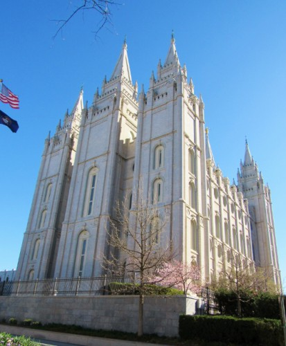 The Salt Lake Temple - Built 1853-1893