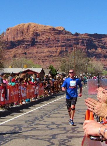 Jon's Half Marathon Finish - 1 hour, 36 minutes, 36 seconds