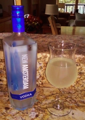 My Moscow Mule - Delicious!