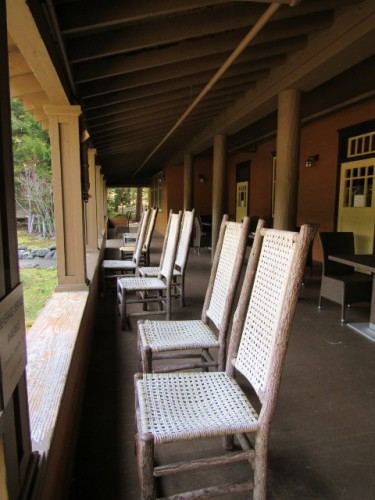 The Porch at the National Park Inn