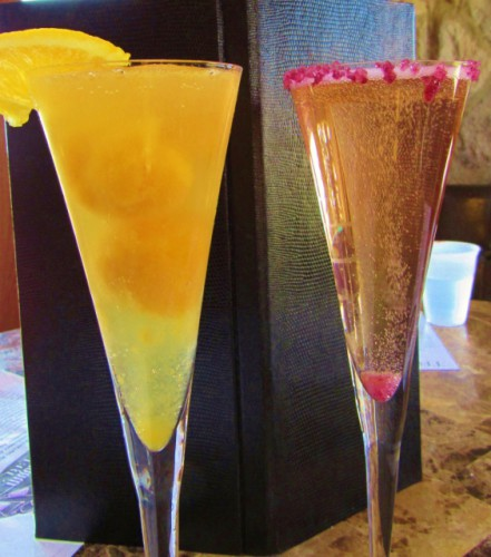 Our sparkling wine cocktails at Treveri
