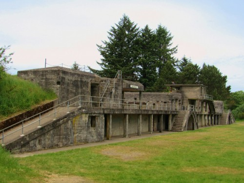 Battery Russell at Fort Stevens State Park