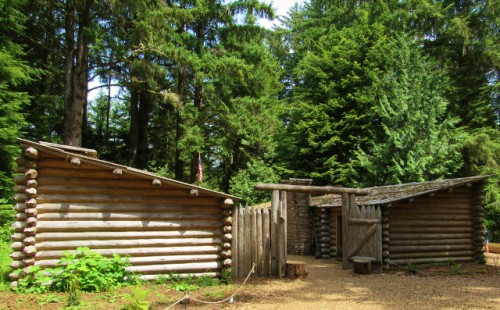 Fort Clatsop Replica - Built 2007