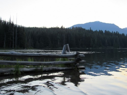Lost Lake at Whistler.