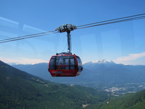 The view from the Peak 2 Peak Gondola
