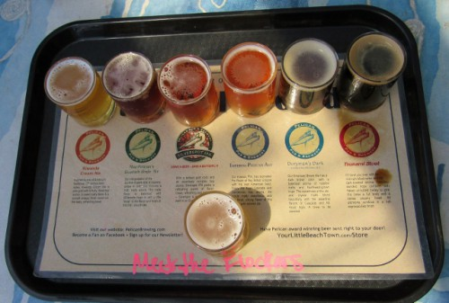 Beer Sampler - so many choices!