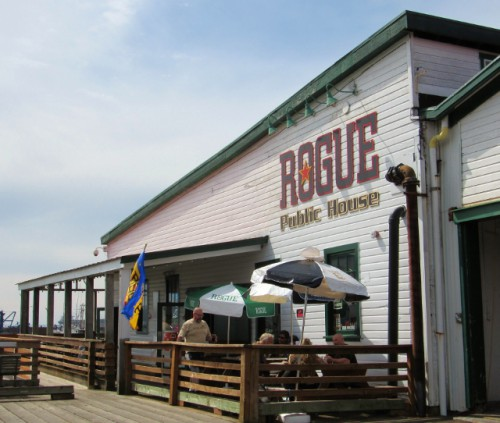 Rogue Brewery - on the pier in Astoria, Oregon