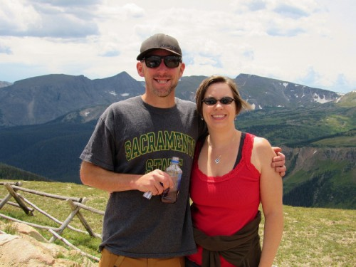 Jon and me at Rocky Mountain National Park!