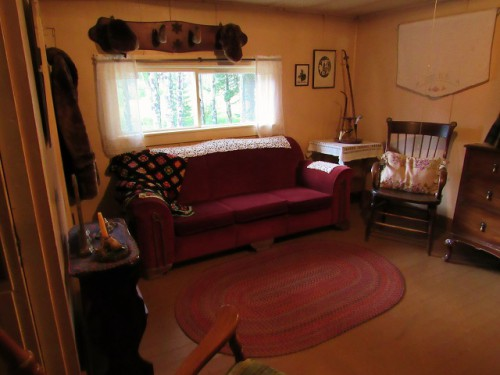 The Living Room of Mama House, at the Holzwarth Historic Site