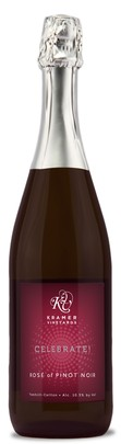 Kramer Vineyards Celebrate! Rosé of Pinot Noir