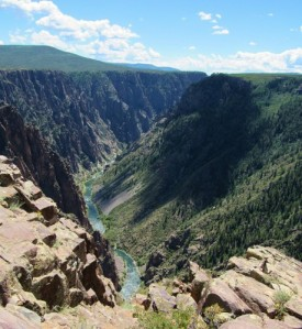 A view of the Gunnison River