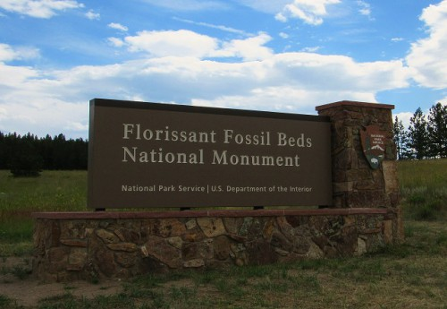 Florissant Fossil Beds National Monument, in Florissant, Colorado