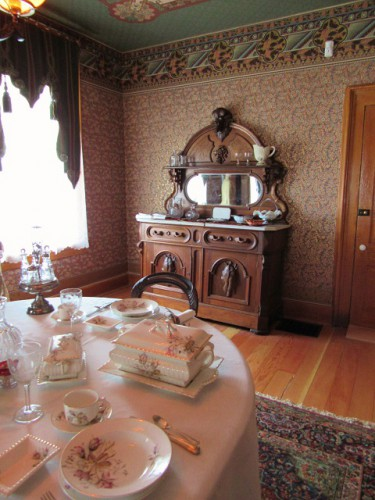 The Dining Room in the Healy House