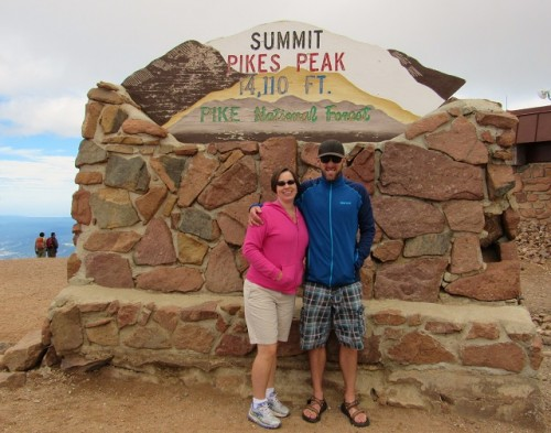 Jon and me at the summit.