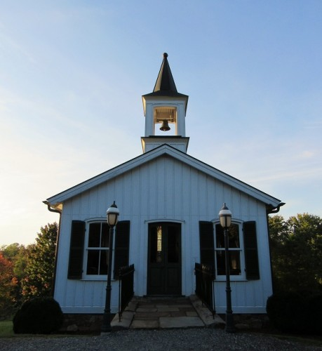 The chapel at the Old City Cemetery.
