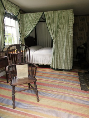 Monroe renovated one of the slave quarters into a guest house, sometime after 1816.