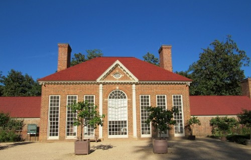 The Greenhouse - originally built 1787. This building was reconstructed in 1951.