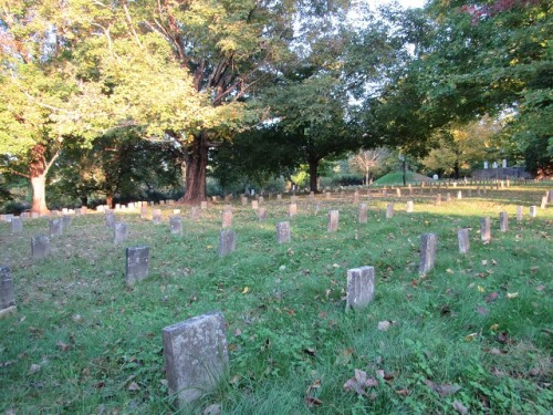 Confederate Graves behind the Pest House at Old City Cemetery